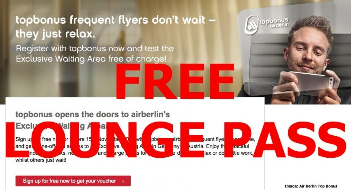 AB Free Lounge Pass