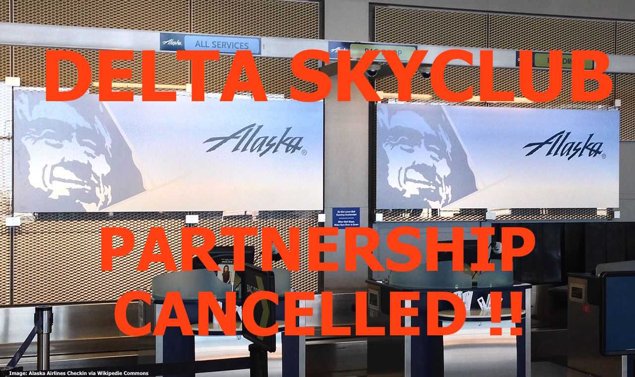 Alaska Airlines Board Room Lounge Partnership With Delta