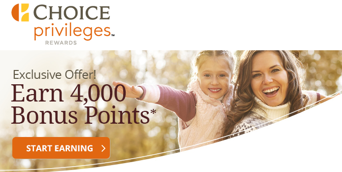 Choice Privileges Targeted Promo October 2015