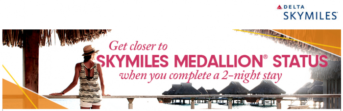 Hilton HHonors Double Delta SkyMiles + 250 MQM Per Stay October 1 December 31 2015