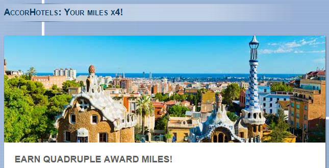 Le Club AccorHotels Airberlin Topbonus Quadruple Miles October 1 December 31 2015