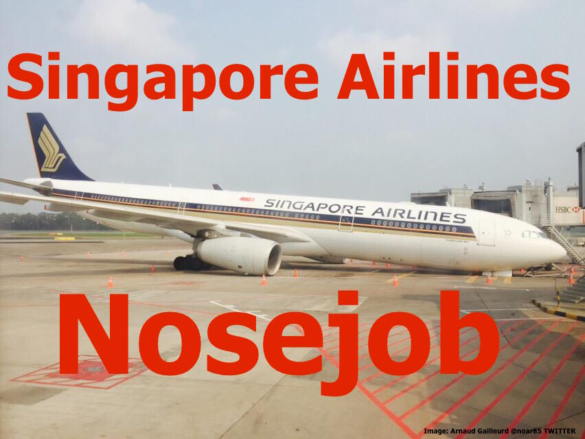 Singapore Airlines: Airbus 'Nose Down' At The Gate After