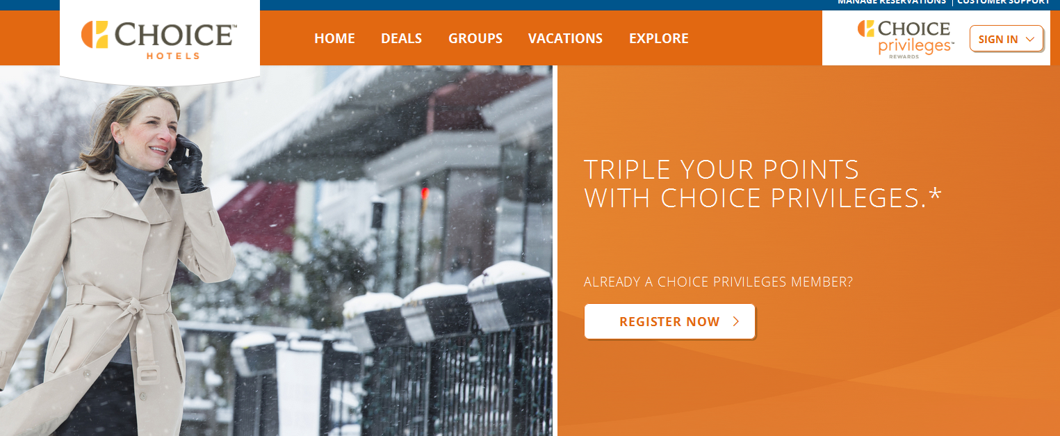 Choice Hotels Coupons, Promo Codes, And Deals | Click here to get all the latest deals before you book a hotel room at any Choice Hotels partner. We have discounts and the best rates on Comfort Inn and Suites, EconoLodge, Quality Inn, Sleep Inn, and more.