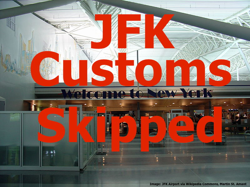 New York Jfk 150 American Airlines Passengers Ex Mexico