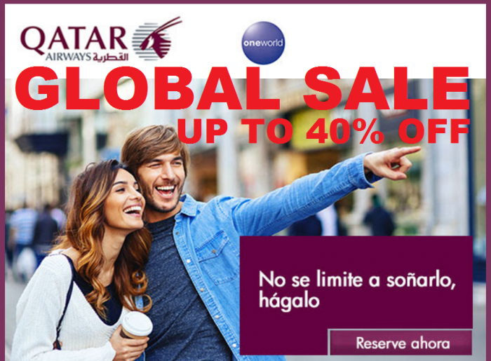 Qatar Airways Global Sale U