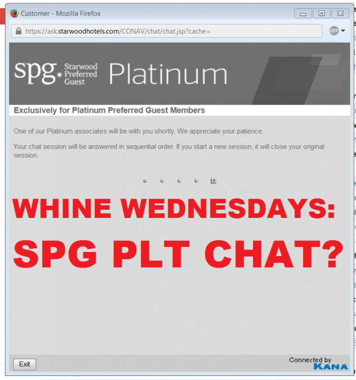 SPG CHAT Wait