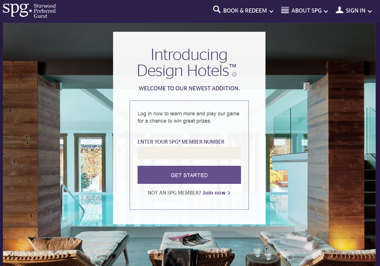 Attractive Spg Design Hotels Sweepstakes November 18 December 18 2015 Loyaltylobby