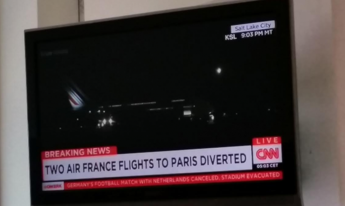 Two Air France Diverted