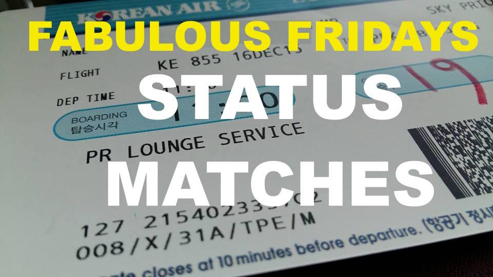 Fabulous Fridays: Random Status Matches - Always Take