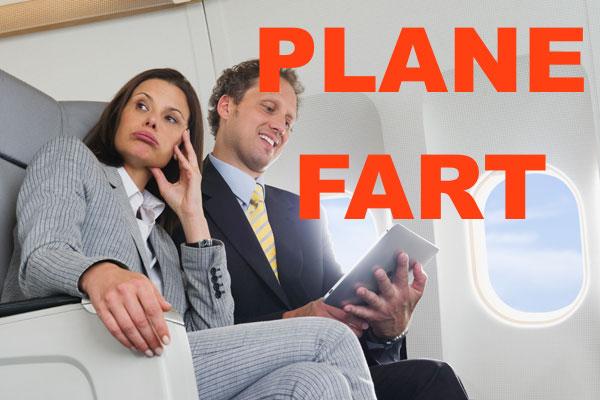 Farts lady plane