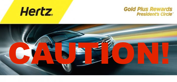 Hertz Rent A Car Careful What You Book For Presidents Circle Five