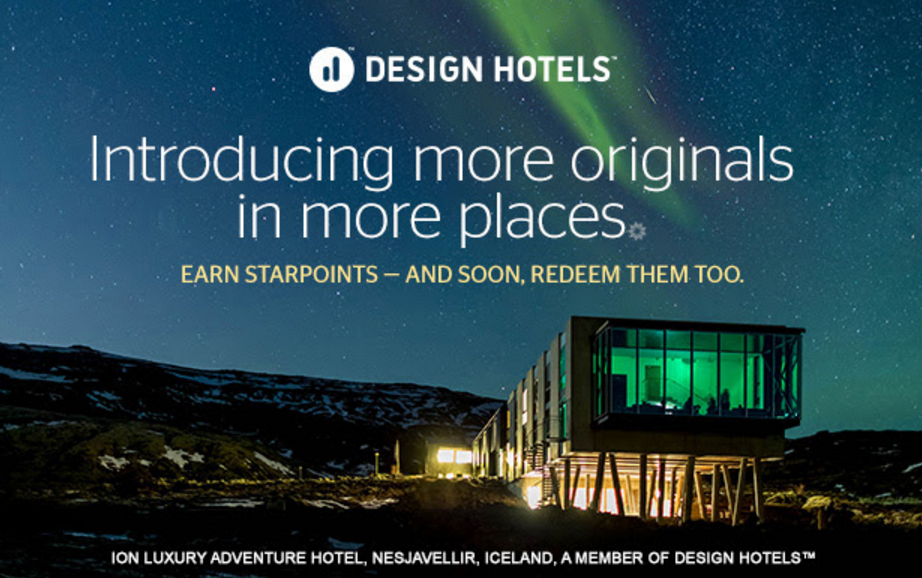 Spg design hotels update now 32 participating hotels for Design hotel spg