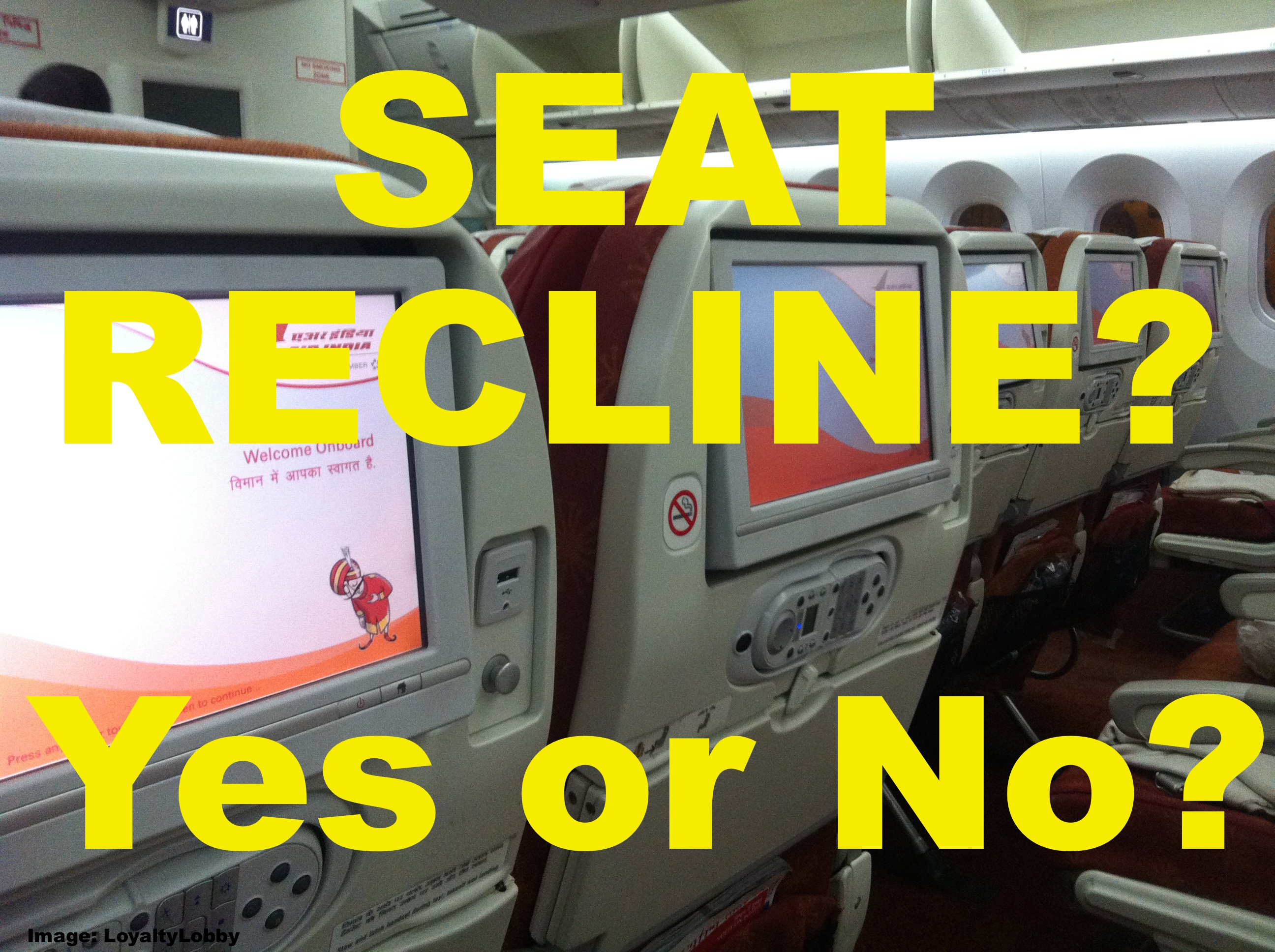 Image result for recline airline seat