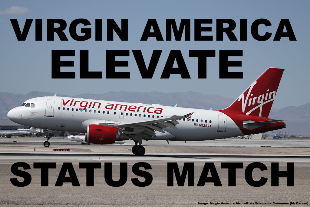 Virgin America Elevate Status Match Challenge For Aa Dl