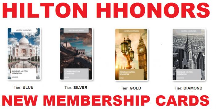 Hilton HHonors Introduces New Membership Cards | LoyaltyLobby