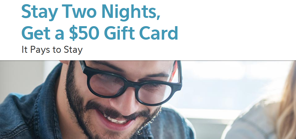 IHG Rewards Club Even Hotels $50 Gift Card Per Two Night Stay May ...