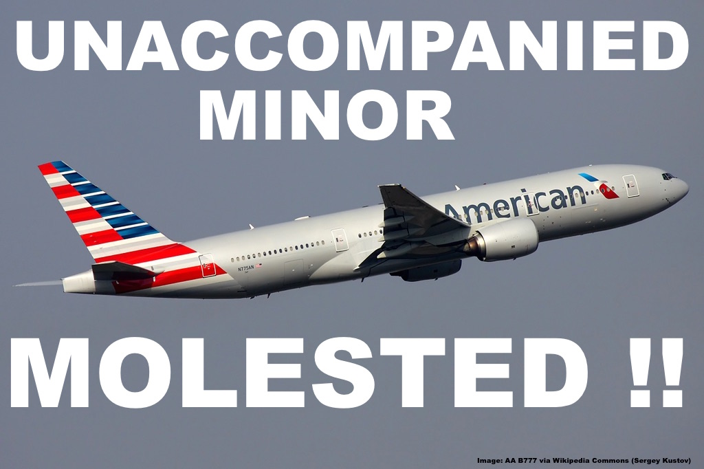 American Airlines: 13 Year Old Unaccompanied Minor Molested By Man ...