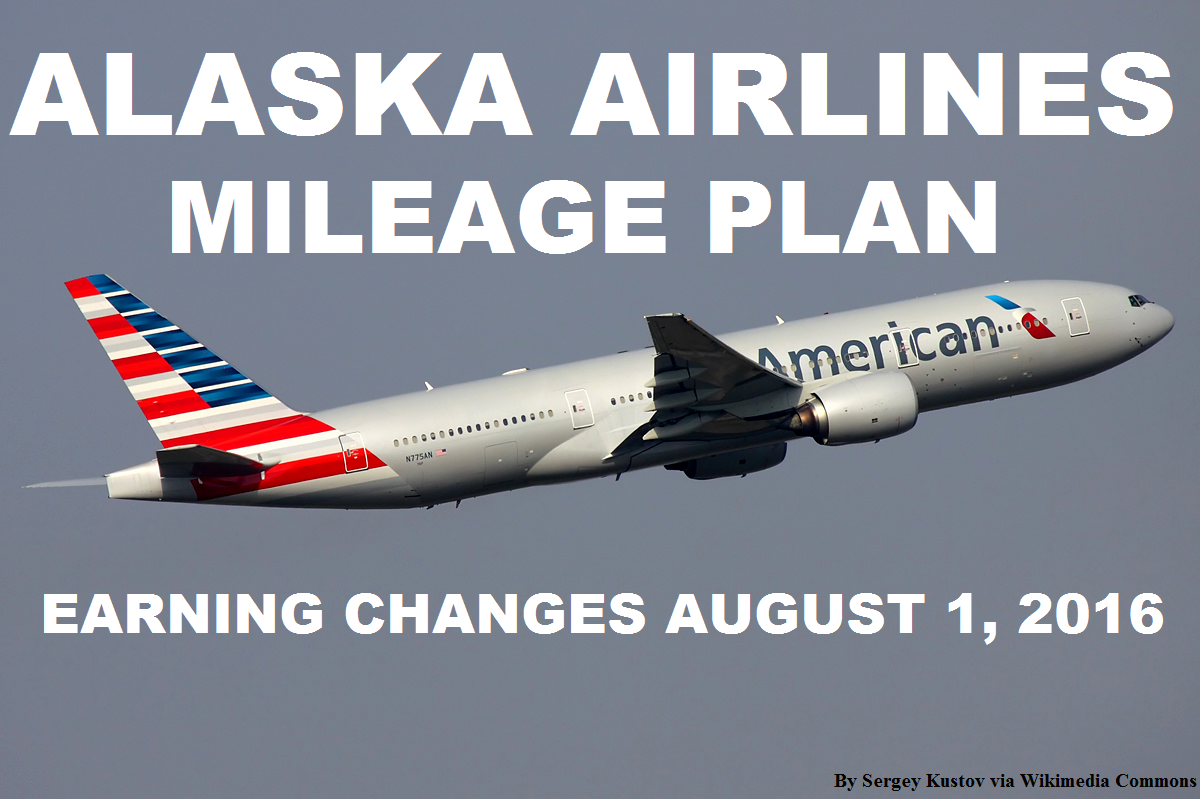 Alaska Airlines Mileage Plan American Airlines Award Miles
