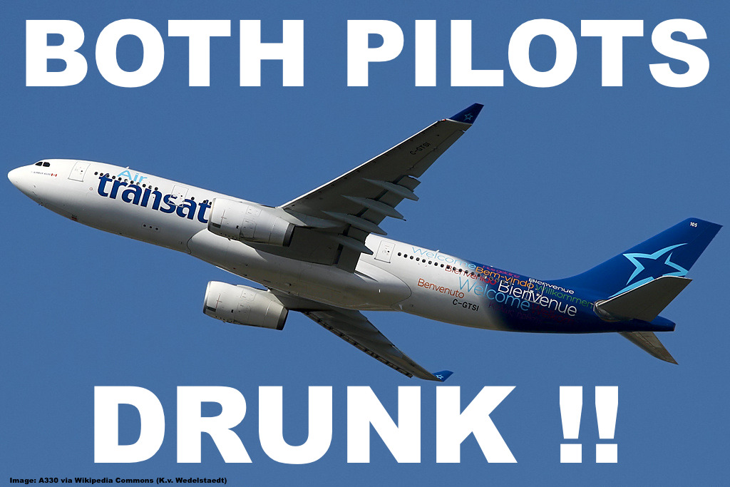 air transat two pilots arrested in scotland for being before toronto bound flight