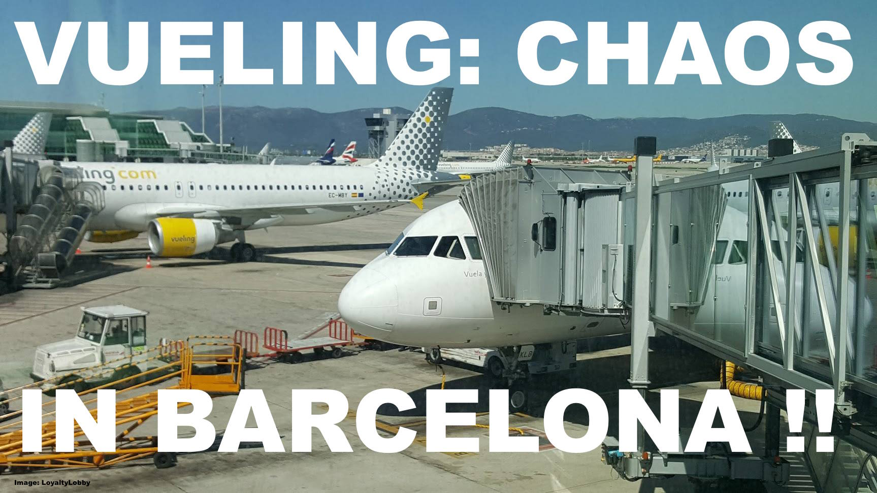 Vueling chaos at barcelona airport leaves over 8 000 for Oficinas vueling barcelona