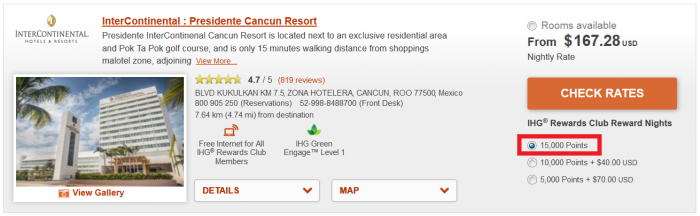 BOOK NOW IHG Rewards Club 50% Off Mexico, Caribbean & Latin America Award Sale For Stays September 1 – October 30, 2016 (Book August 15 – 28) IC CUN