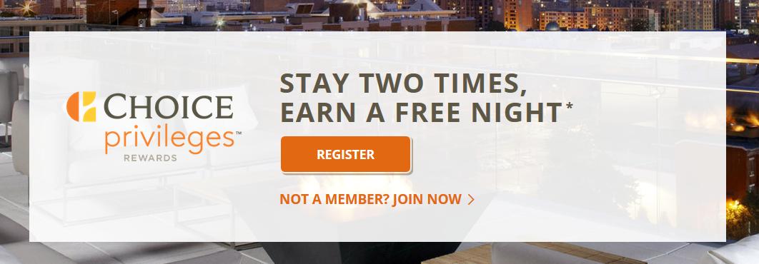 choice hotels rewards promotion