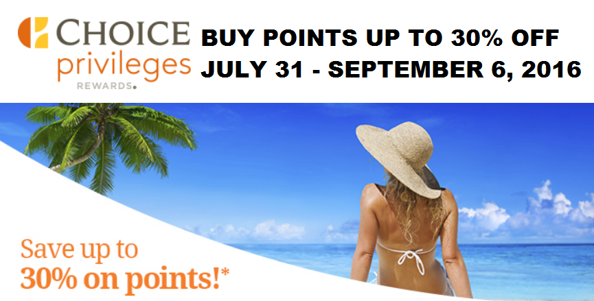 how to use choice rewards points