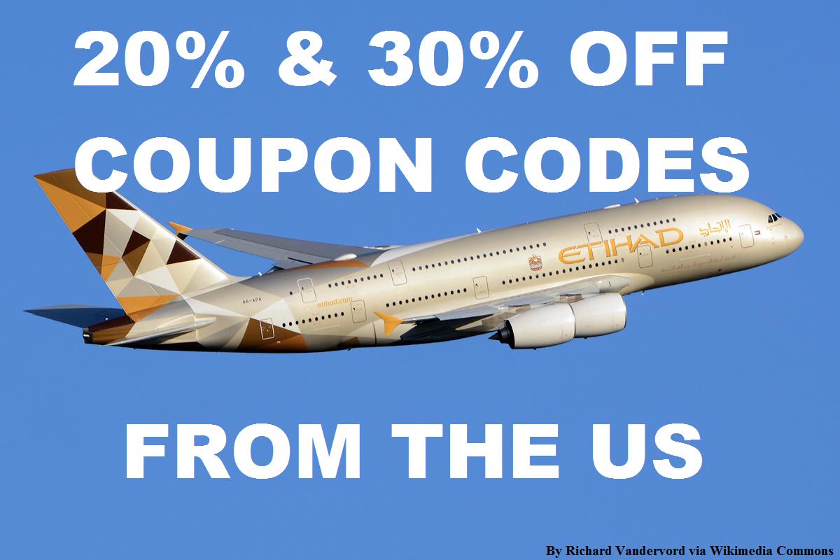 Etihad discount coupons
