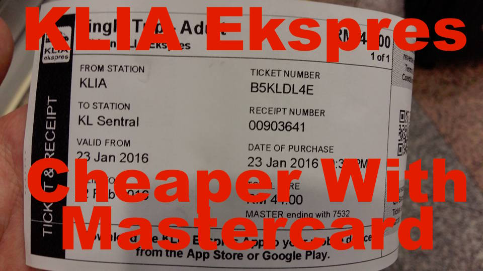 klia express mastercard promo code