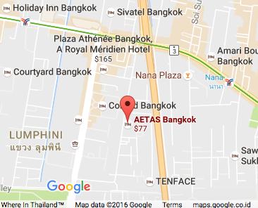 Popular AETAS Bangkok Hotel Will Be Partly Demolished Due To - Us embassy bangkok map