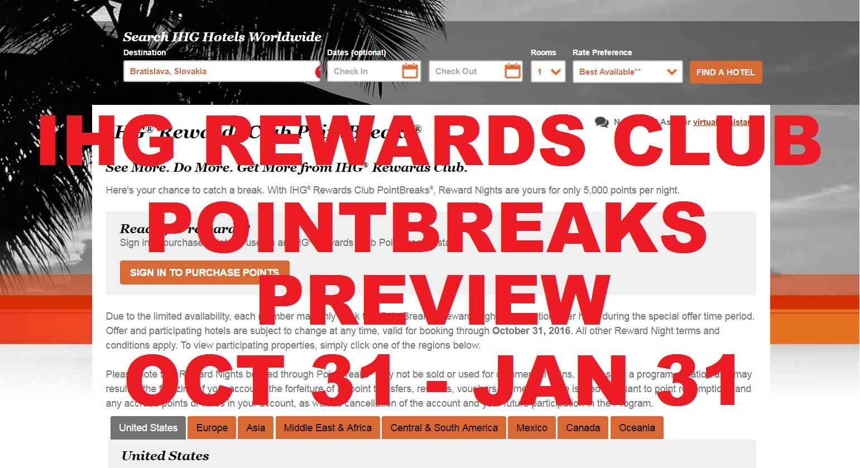 rewards club pointbreaks preview