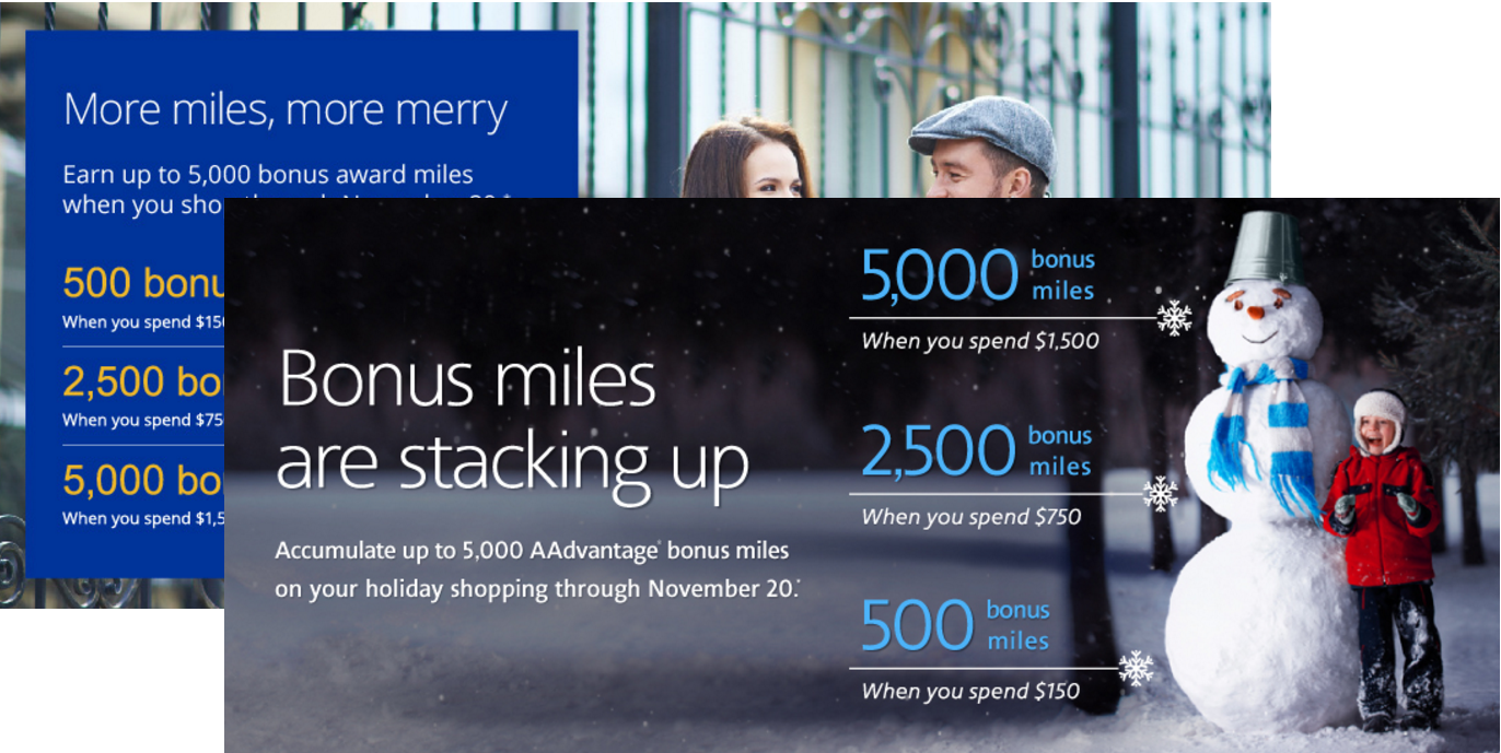 American Airlines Amp United Up To 5 000 Bonus Miles For