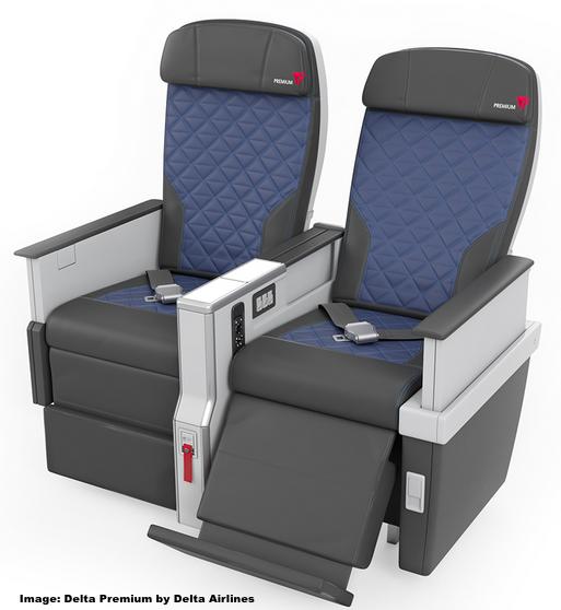 Delta Airlines Unveiled Their New Quot Delta Premium Quot Economy