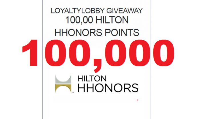 LoyaltyLobby Giveaway: 100,000 Hilton HHonors Points ...