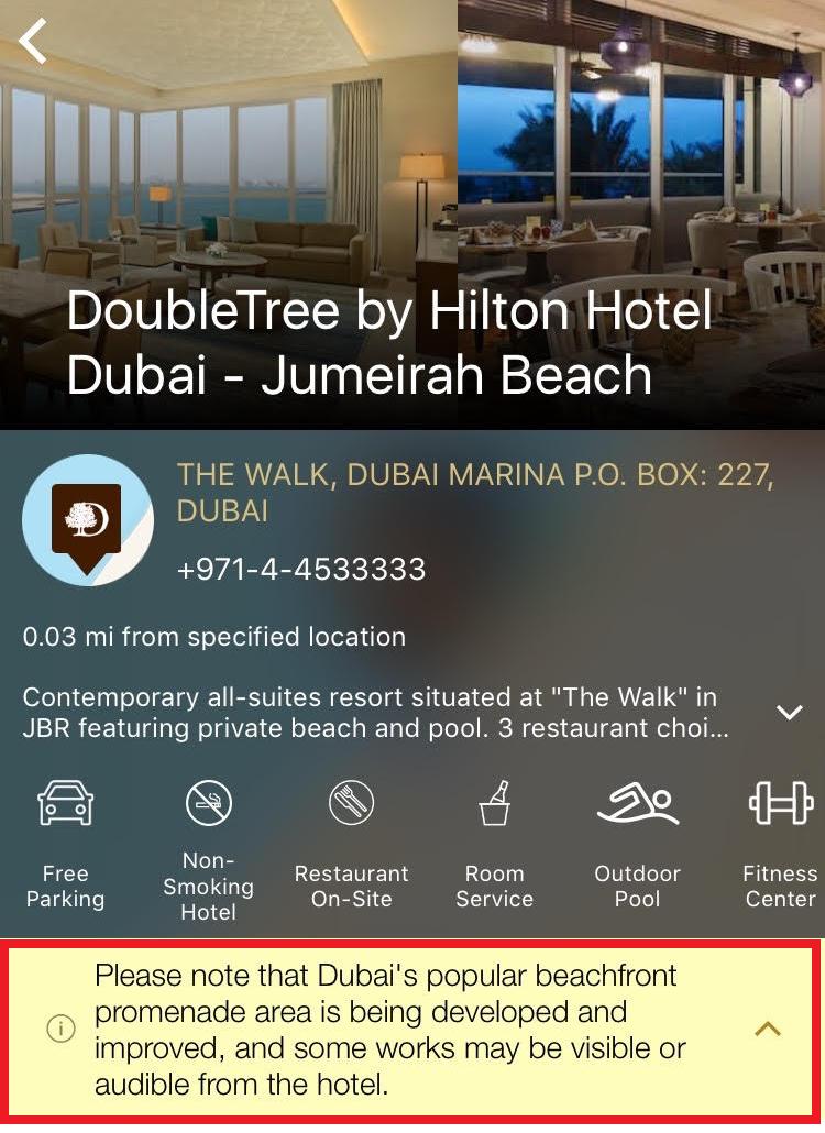 Doubletree Dubai Jumeirah Beach Resort