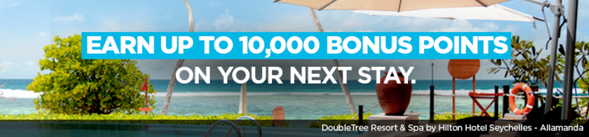 Hilton Hhonors 10 000 Points Winback Offer January 13 11 2018