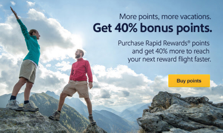 Through May 31, , Southwest is offering a 25% discount on the purchase of Rapid Rewards cemeshaiti.tk can (though I don't know why you would) purchase up to 60, Rapid Rewards points through this promotion.