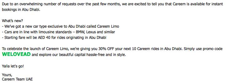 Abu Dhabi Transportation Taxi Monopoly Ends (Again) As Car