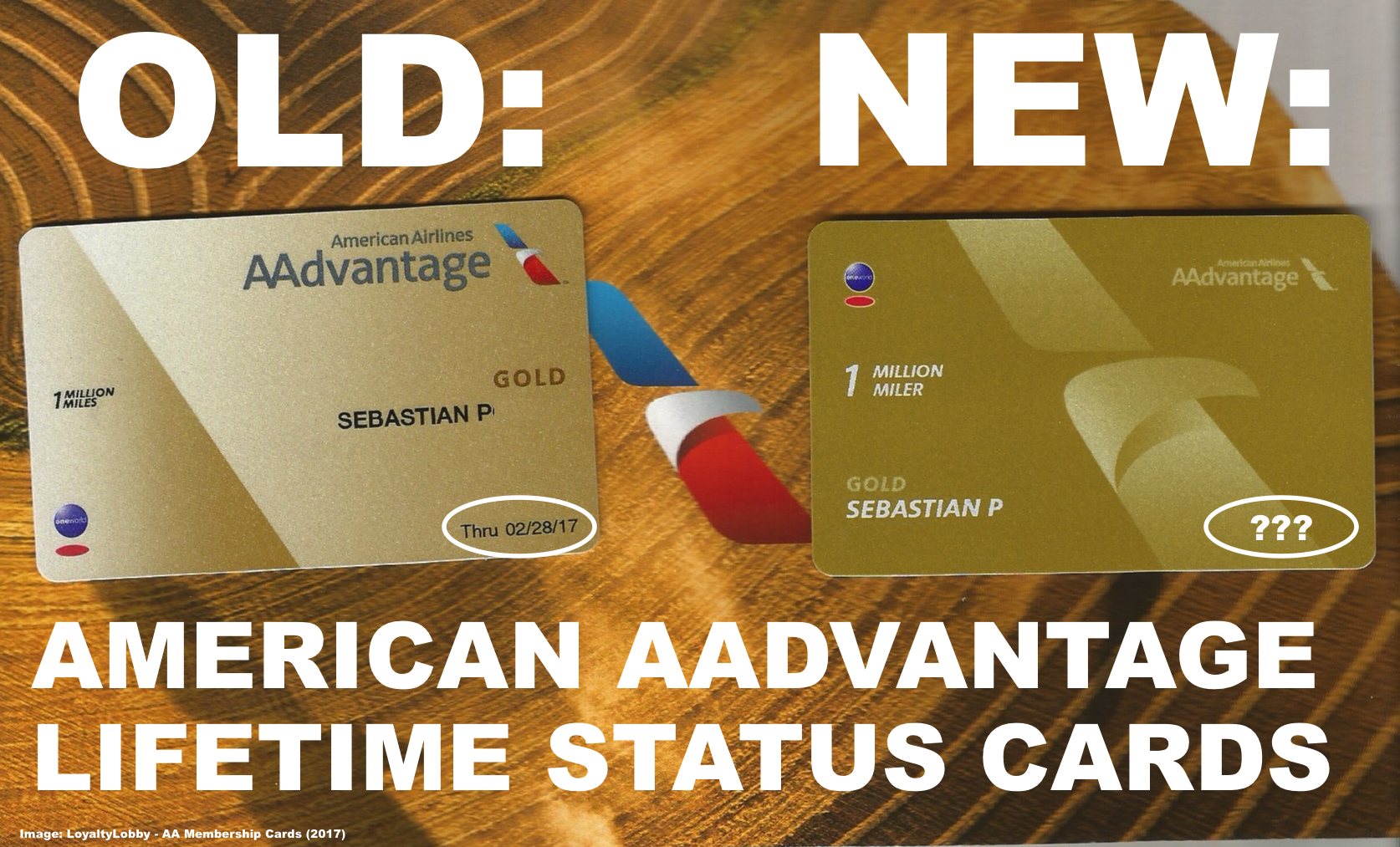 American Airlines AAdvantage Issues Membership Cards Without ...