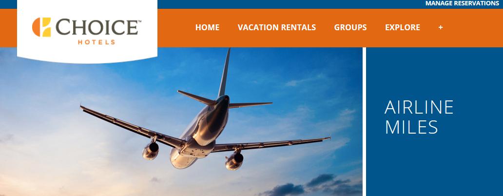 Choice Hotels American Airlines Quadruple Aadvantage Miles
