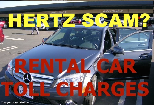 National Car Rental Toll Charges