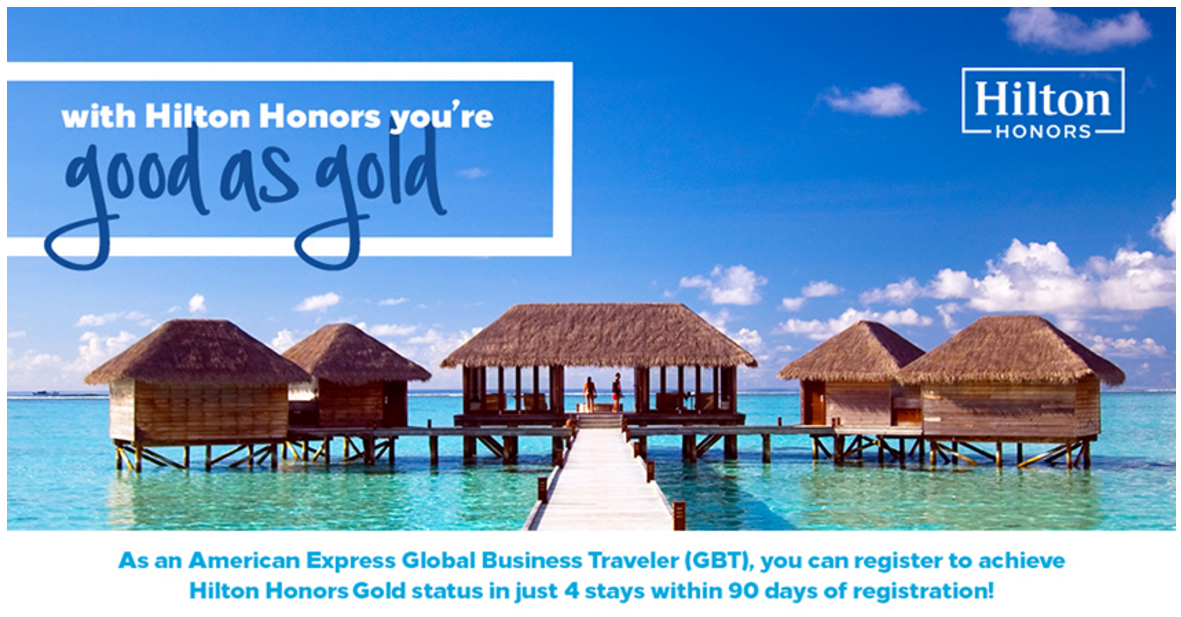 Hilton Honors Amex Gold Fast Track 2017