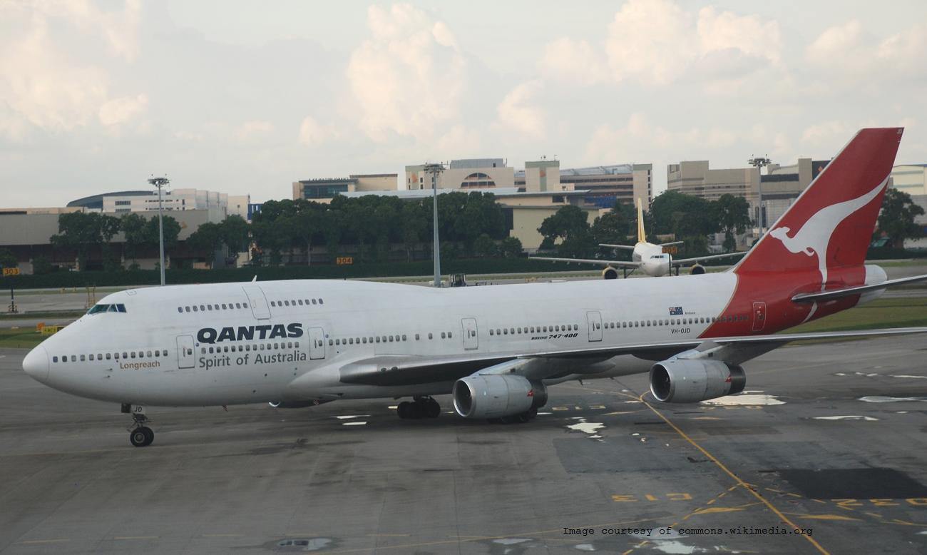Review Qantas Flight 12 Jfk Lax Syd Business Class