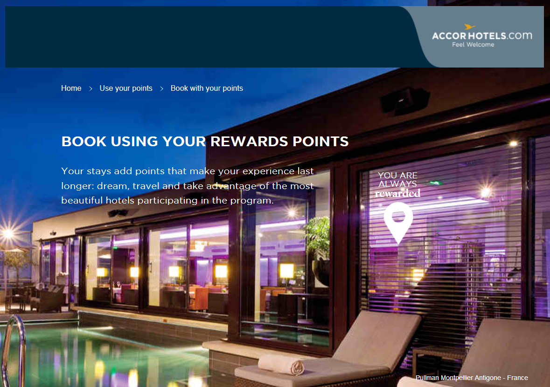 Le Club Accorhotels Rewards Hotel Vouchers
