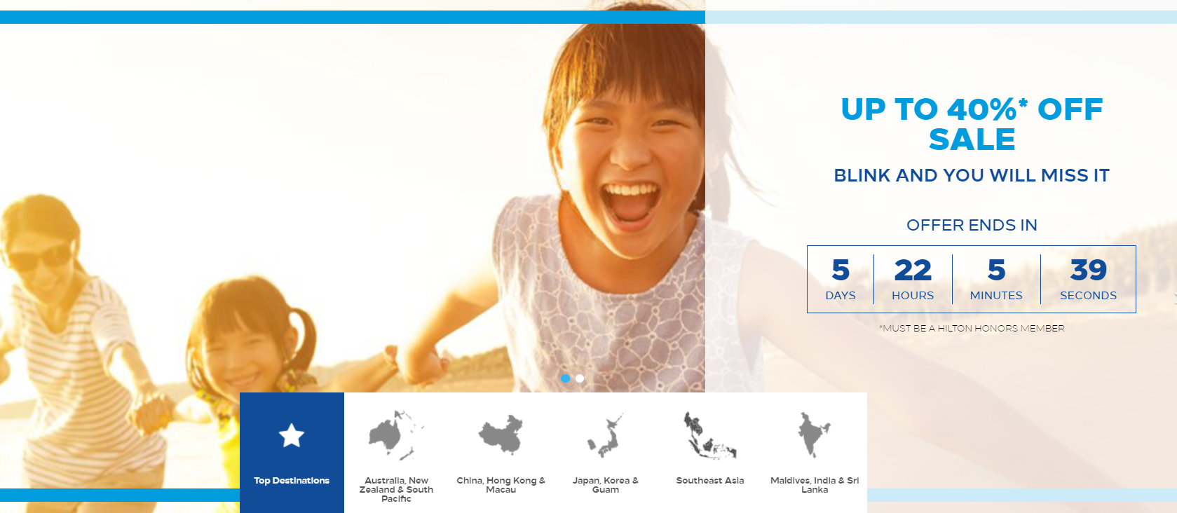 Hilton Honors Asia Pacific Up To 40 Off Flash Sale For