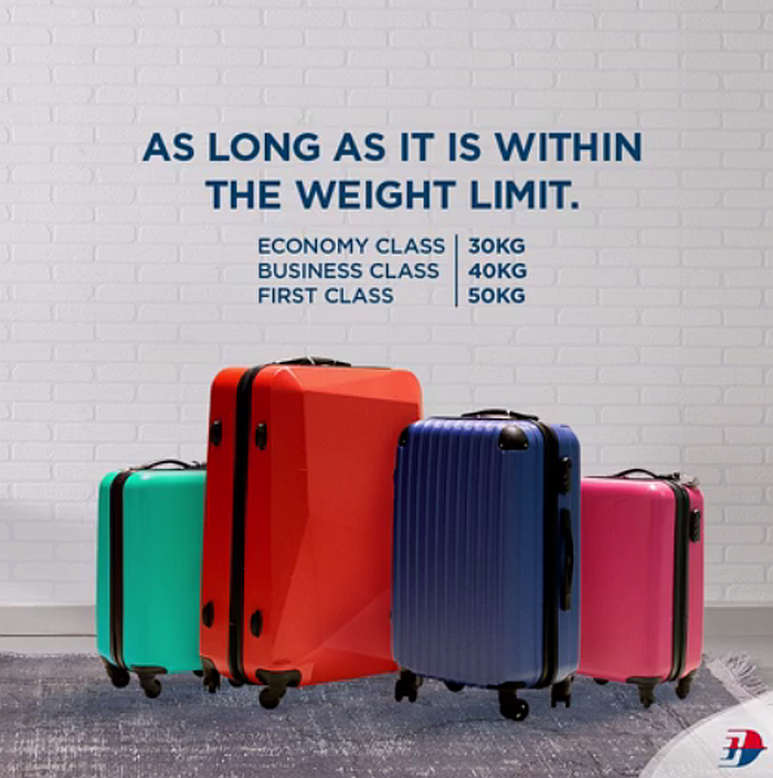 Malaysia airlines baggage allowance 2020