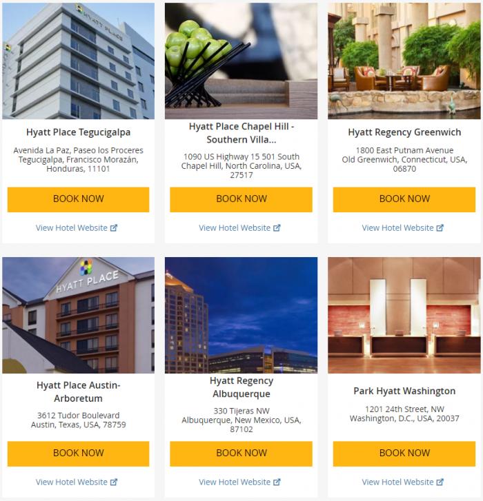 "Hyatt ""Weekend Getaway Deals"" June 29 – July 2 2017 1"