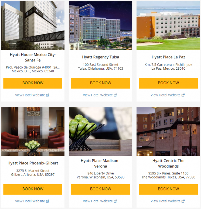 "Hyatt ""Weekend Getaway Deals"" June 29 – July 2 2017 2"