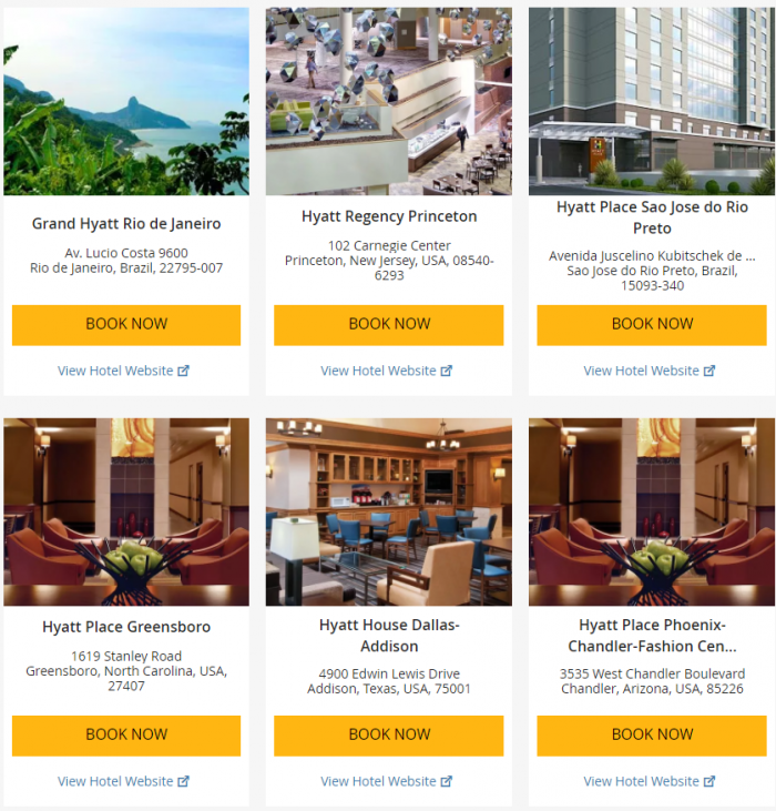 "Hyatt ""Weekend Getaway Deals"" June 29 – July 2 2017 3"