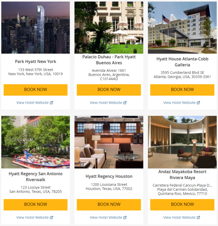 "Hyatt ""Weekend Getaway Deals"" June 29 – July 2 2017 4"
